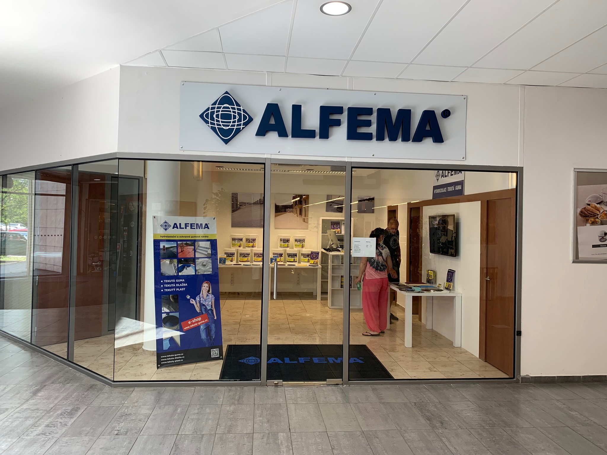 ÚJ ALFEMA SHOWROOM CZ OPEN